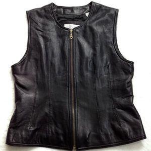 Valerie Stevens Leather Vest